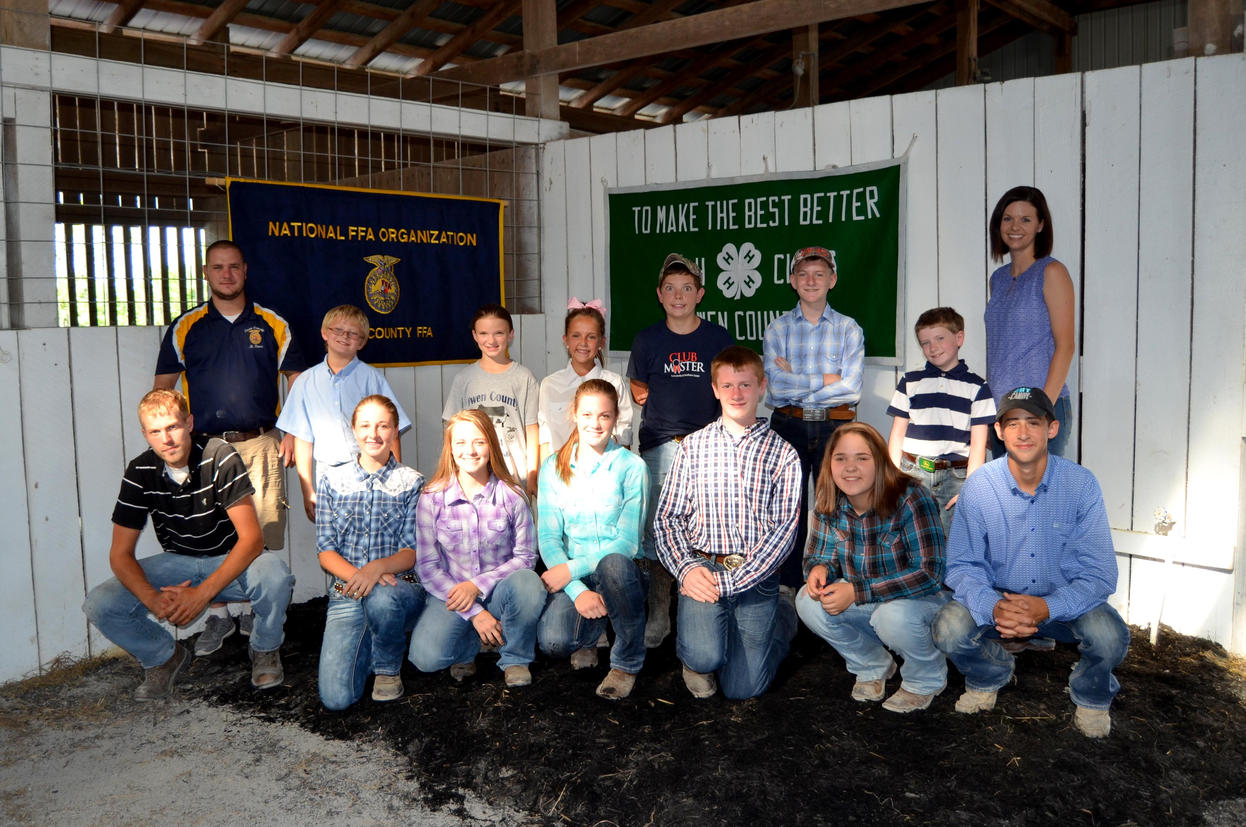 2015 Livestock Sale Group Picture